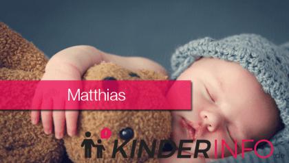 ᐅ Vorname Matthias: Bedeutung, Herkunft, Namenstag & mehr