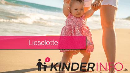 Vorname Lieselotte