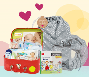 ᐅ Baby Gratisproben Willkommenspakete 25 Empfehlungen