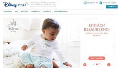 Disney Store-Onlineshop
