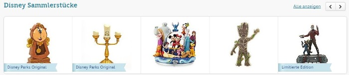 Disney Store Sammlerstücke