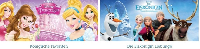 Disney Store Sortiment