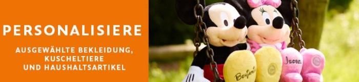 Disney Store personalisierbare Geschenke