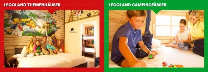 Legoland Übernachtungen