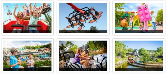 Legoland Attraktionen