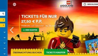Legoland Onlineshop