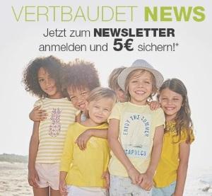 Vertbaudet Gutschein Newsletter