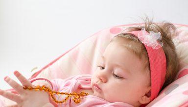 Bernsteinkette Baby Zahnweh