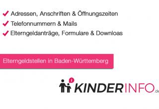 Elterngeldstellen in Baden-Württemberg