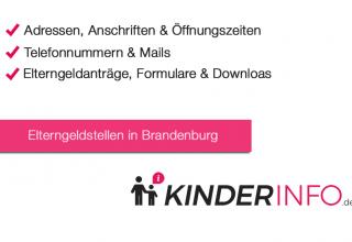Elterngeldstellen in Brandenburg