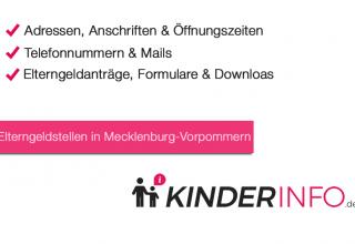 Elterngeldstellen in Mecklenburg-Vorpommern
