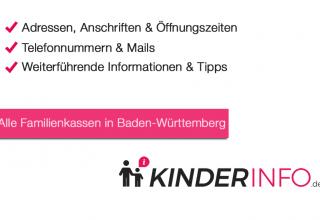 Familienkassen in Baden-Württemberg