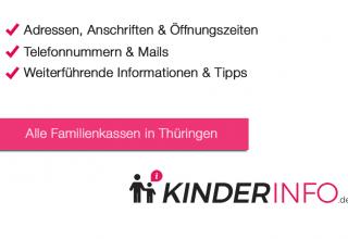 Familienkassen in Thüringen