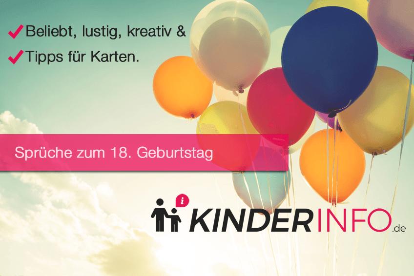 ᐅ Sprüche Zum 18 Geburtstag Beliebt Lustig Kreativ