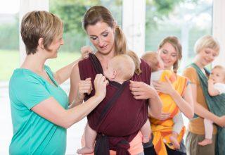 Babytragetuch binden - Anleitung & Checkliste
