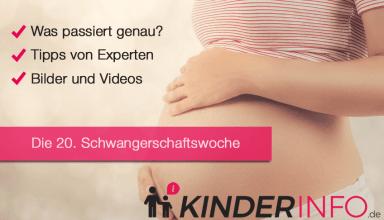 20. SSW - Schwangerschaftswoche