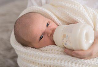 Wieviel muss ein Baby trinken?