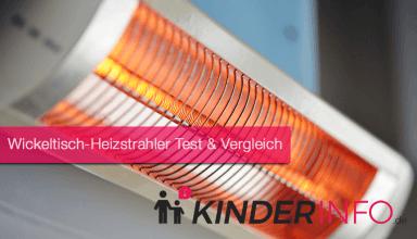 Wickeltisch-Heizstrahler Test