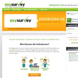 Mysurvey Auszahlung